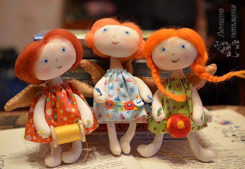 феечки-швеечки, Мягкие игрушки, Саки,  Фото №1