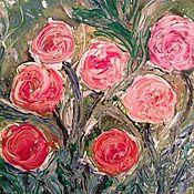Картины ручной работы. Ярмарка Мастеров - ручная работа цветочное настроение. Handmade.