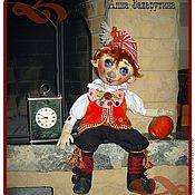 """Подарки к праздникам ручной работы. Ярмарка Мастеров - ручная работа кукла """"Буратино"""", текстильная. Handmade."""