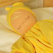 Куклы и игрушки handmade. Livemaster - original item Scops Owl - Waldorf doll. Handmade.