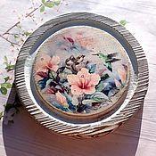 handmade. Livemaster - original item Serving cheese, Decorative board Summer Inspiration Vintage. Handmade.