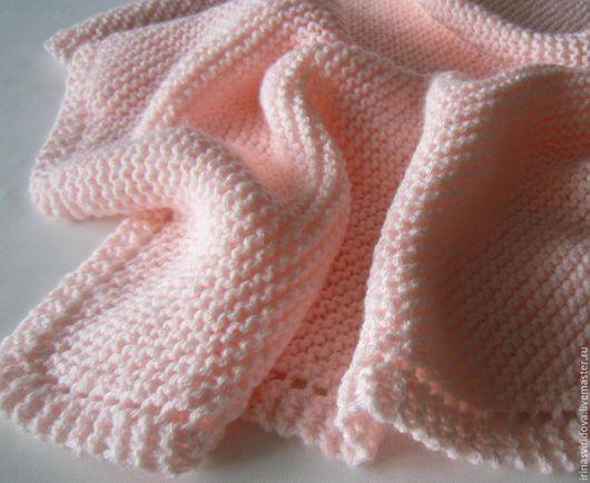 Пледы и одеяла ручной работы. Ярмарка Мастеров - ручная работа. Купить Плед вязаный Неженка. Handmade. Плед детский