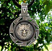 Украшения handmade. Livemaster - original item Pendant / Silver Charm 925 Veles (Bear). Handmade.