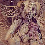 """Куклы и игрушки ручной работы. Ярмарка Мастеров - ручная работа Мишка """"Bonjour,Paris""""!. Handmade."""
