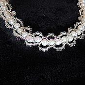 Necklace handmade. Livemaster - original item Necklace white pearls №1. Handmade.