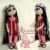 Куклы и игрушки ручной работы. Ярмарка Мастеров - ручная работа Кукла -девочка узбечка по имени Гульнора. Handmade.