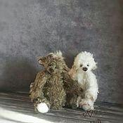 Мишки Тедди ручной работы. Ярмарка Мастеров - ручная работа Лохматый мишка. Handmade.