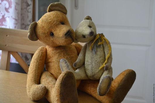 Мишки Тедди ручной работы. Ярмарка Мастеров - ручная работа. Купить Чуша. Медведь.. Handmade. Желтый, игрушка ручной работы