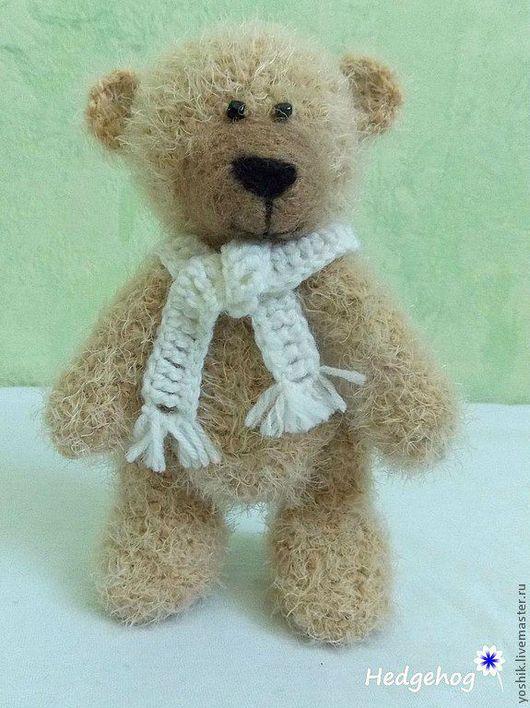 Мишки Тедди ручной работы. Ярмарка Мастеров - ручная работа. Купить Медвежонок Марк. Handmade. Медвежонок, мишка вязаный