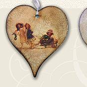 Подарки к праздникам ручной работы. Ярмарка Мастеров - ручная работа Новый год, барышни. Handmade.