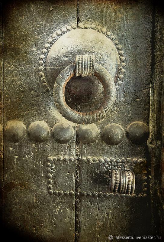 Дверь II. 60х40  Бумага матовая. Печать, Картины, Москва,  Фото №1