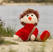 Куклы и игрушки ручной работы. Ярмарка Мастеров - ручная работа Мягкая игрушка Клоун. Handmade.