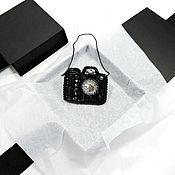 Украшения handmade. Livemaster - original item Brooch Camera. A gift to the photographer. Brooch camera. Handmade.