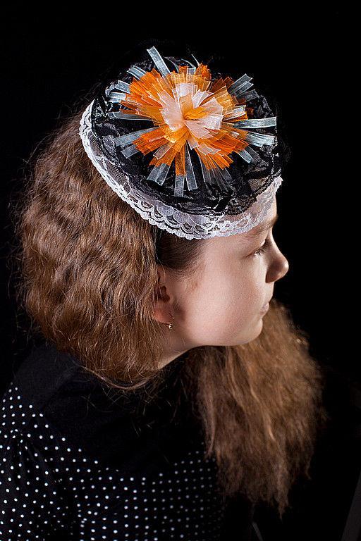 """Диадемы, обручи ручной работы. Ярмарка Мастеров - ручная работа. Купить Ободок для волос Салют"""". Handmade. Ободок для волос, кружево"""