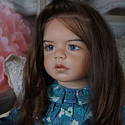 Куклы Reborn ручной работы. Ярмарка Мастеров - ручная работа кукла реброн Самира 1 ( Regina Swialkowski). Handmade.