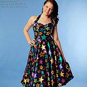 """Одежда ручной работы. Ярмарка Мастеров - ручная работа Ретро платье """"Starlet"""". Handmade."""