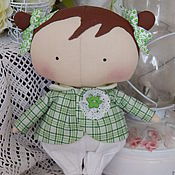 Куклы и игрушки handmade. Livemaster - original item Dolls Tilda: Sweetheart doll.  Doll Tilda doll cute interior. Handmade.