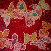 Аксессуары ручной работы. Ярмарка Мастеров - ручная работа Бабочки на красном. Handmade.