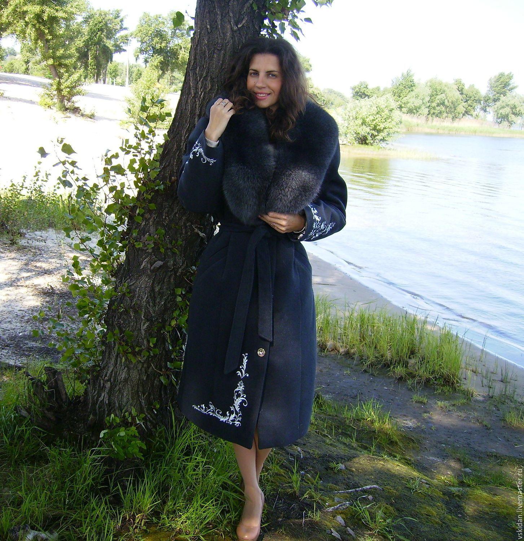 51dfa5b5879 Верхняя одежда ручной работы. Ярмарка Мастеров - ручная работа. Купить  Пальто зимнее из кашемира ...