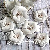 Материалы для творчества ручной работы. Ярмарка Мастеров - ручная работа Набор цветов Freetany Flowers  21 Wedding. Handmade.