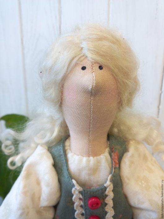 Куклы Тильды ручной работы. Ярмарка Мастеров - ручная работа. Купить Домашний ангел Варя...... Handmade. Кремовый, интерьерная кукла