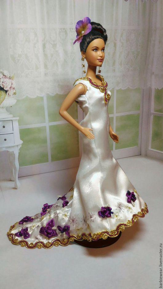 """Одежда для кукол ручной работы. Ярмарка Мастеров - ручная работа. Купить Платье """"Королева бала"""". Handmade. Комбинированный"""