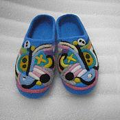 """Обувь ручной работы. Ярмарка Мастеров - ручная работа Тапочки """"фантазия"""". Handmade."""
