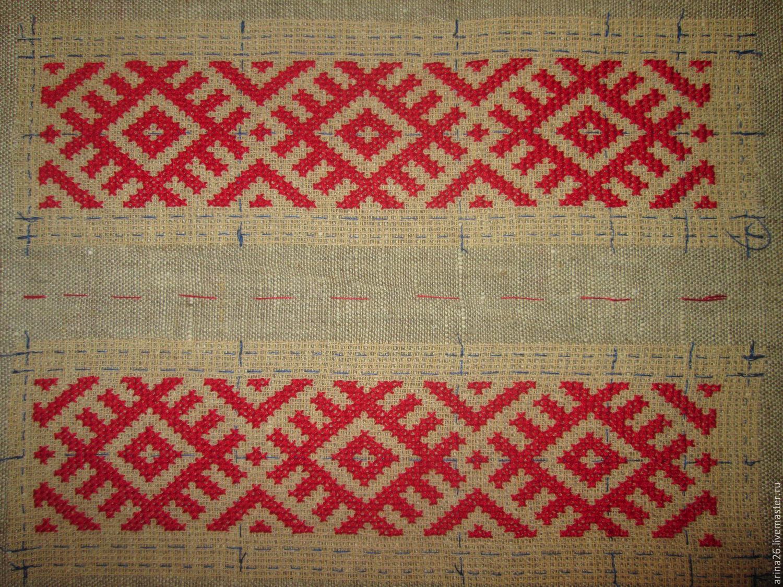 Символ богатства в славянской вышивке