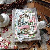 """Канцелярские товары ручной работы. Ярмарка Мастеров - ручная работа Блокнот """"Botanical tea"""" 2. Handmade."""