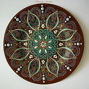 """Посуда ручной работы. Ярмарка Мастеров - ручная работа тарелка """"Восточный шоколад"""". Handmade."""