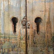"""Для дома и интерьера ручной работы. Ярмарка Мастеров - ручная работа Ключница """"Утро в Вене"""". Handmade."""