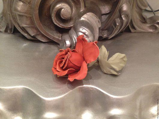 Комплекты украшений ручной работы. Ярмарка Мастеров - ручная работа. Купить Розы, ирисы из кожи. Handmade. Украшения из кожи