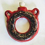 Украшения handmade. Livemaster - original item amphora for storing aromatic oils. Handmade.