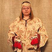 """Одежда ручной работы. Ярмарка Мастеров - ручная работа Рубаха """"Иван Купало"""". Handmade."""