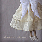 """Куклы и игрушки ручной работы. Ярмарка Мастеров - ручная работа """"Ангел красок грусти"""" - авторская кофейная куколка. Handmade."""