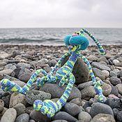 Куклы и игрушки handmade. Livemaster - original item Knitted toy rabbit Pretzel. Handmade.