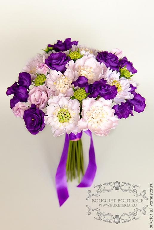 Свадебные цветы ручной работы. Ярмарка Мастеров - ручная работа. Купить Свадебный букет невесты. Handmade. Букет невесты
