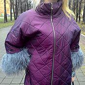 "Одежда ручной работы. Ярмарка Мастеров - ручная работа Куртка оверсайз "" ЛАМА"". Handmade."