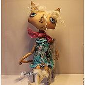 Куклы и игрушки ручной работы. Ярмарка Мастеров - ручная работа Кошка фотомодель. Handmade.