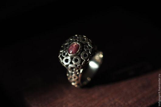 Кольца ручной работы. Ярмарка Мастеров - ручная работа. Купить Серебряное кольцо с звездным рубином. Handmade. Серебряный, кольцо, рубин