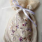Сувениры и подарки ручной работы. Ярмарка Мастеров - ручная работа Мешочек для мелочей или трав. Handmade.