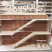 Игровые наборы ручной работы. Ярмарка Мастеров - ручная работа Игрушка гараж для машинок. Handmade.