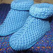Обувь ручной работы. Ярмарка Мастеров - ручная работа Ботиночки вязанные. Handmade.