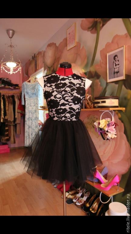 """Платья ручной работы. Ярмарка Мастеров - ручная работа. Купить Платье """"Miss B"""". Handmade. Вечерний наряд, трикотажное полотно"""