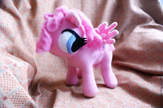"""Сказочные персонажи ручной работы. Ярмарка Мастеров - ручная работа. Купить My Little Pony, """"Pinkie"""" Pie. Handmade. флис"""