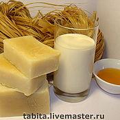 """Косметика ручной работы. Ярмарка Мастеров - ручная работа Натуральное мыло """"Молоко и мед"""". Handmade."""