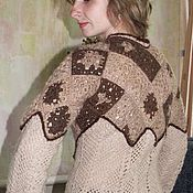 """Одежда ручной работы. Ярмарка Мастеров - ручная работа свитер """"Шоколад"""". Handmade."""