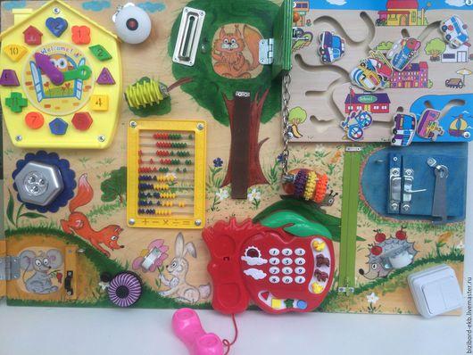 Развивающие игрушки ручной работы. Ярмарка Мастеров - ручная работа. Купить Лесной. Handmade. Комбинированный, развивашка, развивающая игрушка