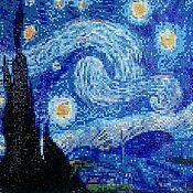 Для дома и интерьера ручной работы. Ярмарка Мастеров - ручная работа Ван Гог.Звездная ночь.. Handmade.