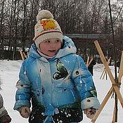 """Работы для детей, ручной работы. Ярмарка Мастеров - ручная работа Костюм зимний """"Бабочки"""". Handmade."""